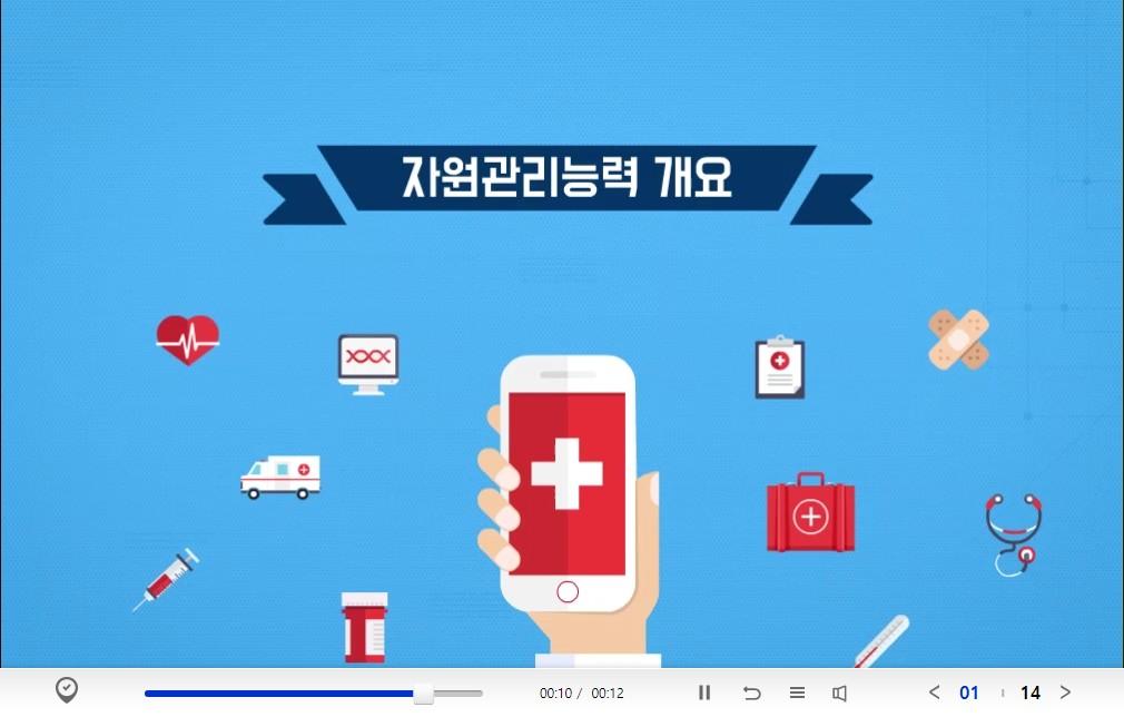 NCS직업기초능력_자원관리능력